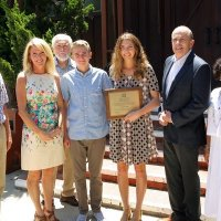 Teen with Pectus Excavatum Honored with Rotary Club Award